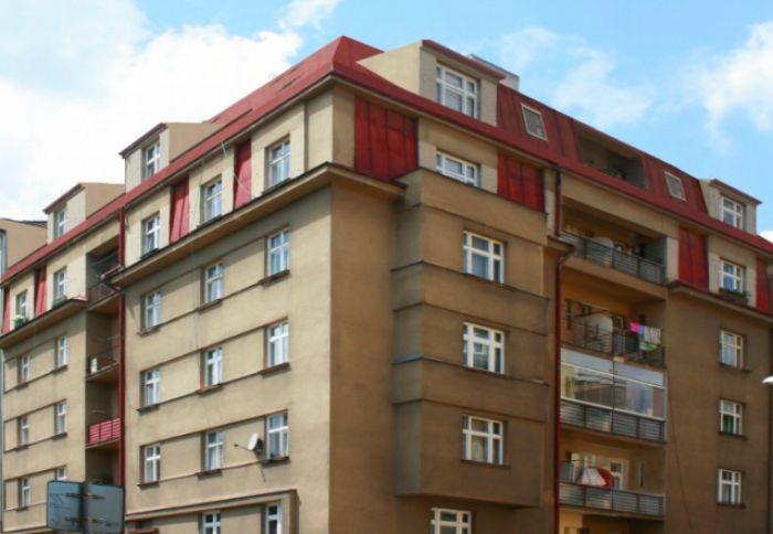 Zákres nástavby do fotografie - developerský projekt Jaurisova, ulice Jaurisova, Praha 4 - Nusle | 1