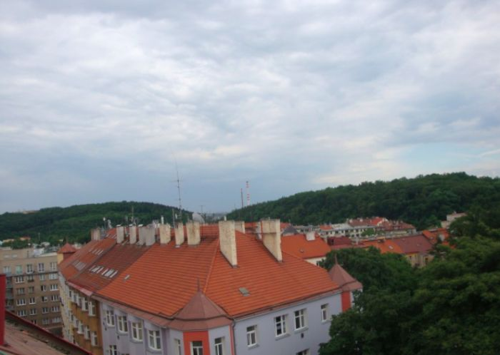 Výhled z bytového domu - developerský projekt Jaurisova, ulice Jaurisova, Praha 4 - Nusle | 4