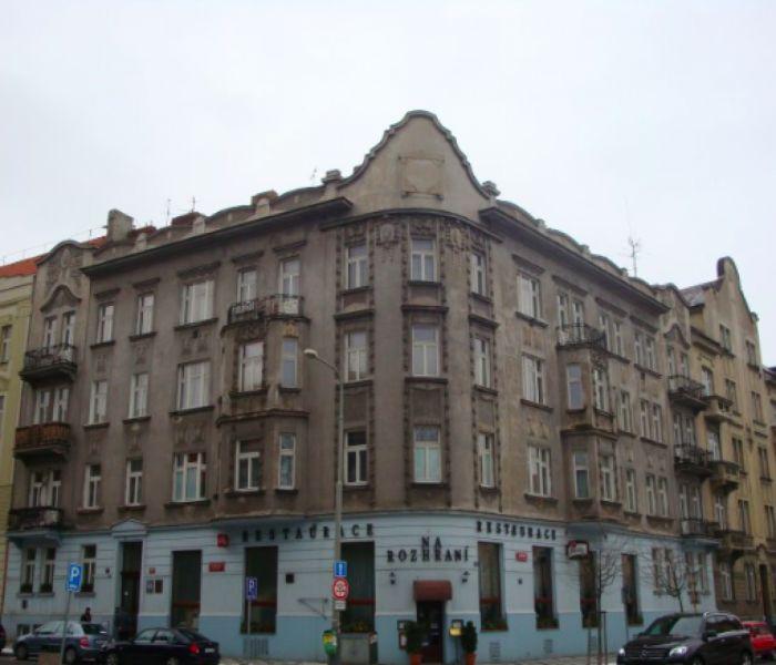 Stav před rekonstrukcí - developerský projekt Srbská, ulice Srbská, Praha 6 - Dejvice | 2