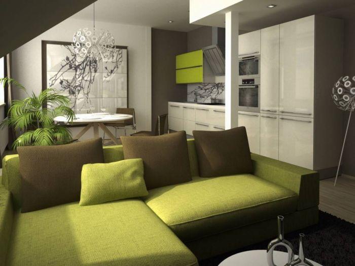 Půdní byt 3+kk, plocha 76 m², ulice U Vody, Praha 7 - Holešovice | 1