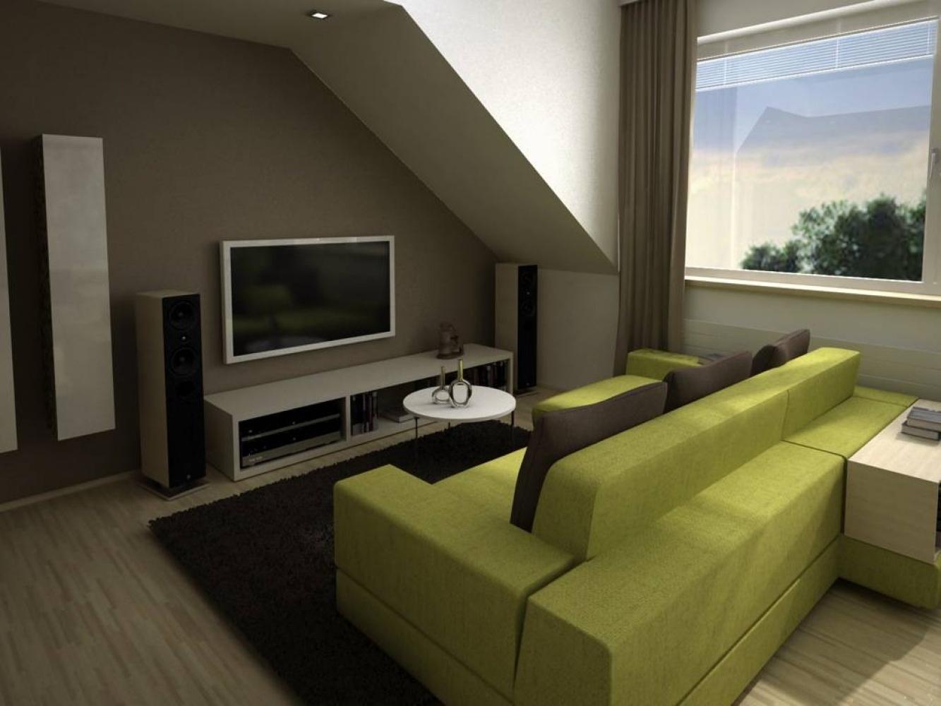 Půdní byt 2+kk, plocha 39 m², ulice U Vody, Praha 7 - Holešovice   3
