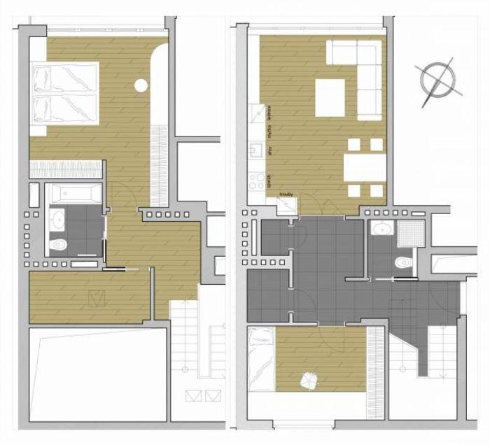 Půdní byt 3+kk, plocha 113 m², ulice Šmilovského, Praha 2 - Vinohrady, cena 8 490 000 Kč | 10