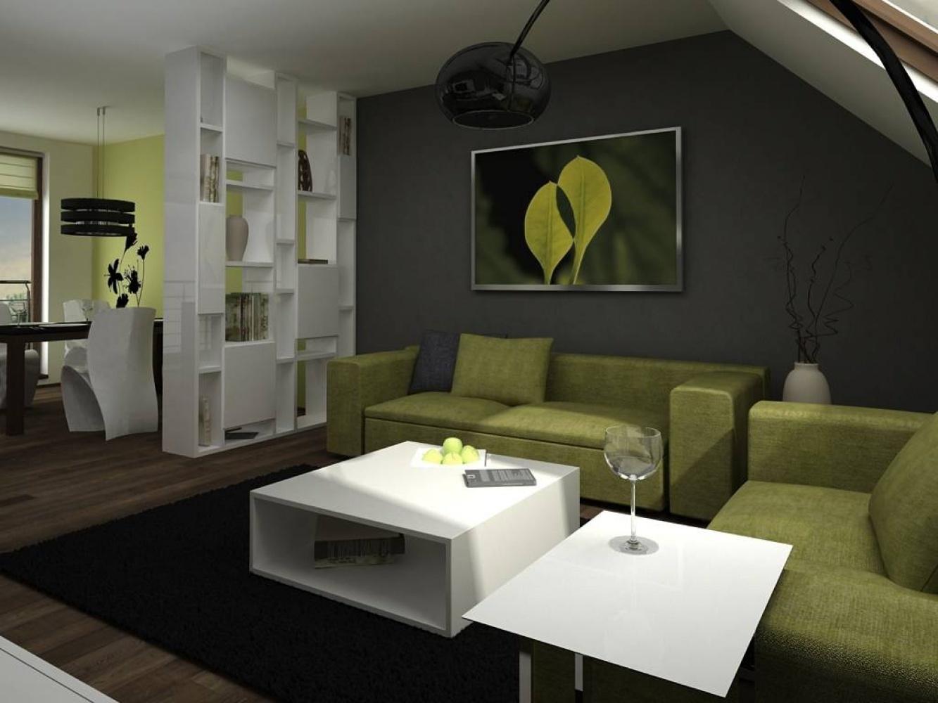 Půdní byt 1+kk, plocha 16 m², ulice Šmilovského, Praha 2 - Vinohrady | 1