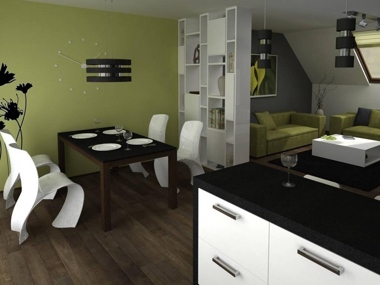 Půdní byt 1+kk, plocha 16 m², ulice Šmilovského, Praha 2 - Vinohrady | 2