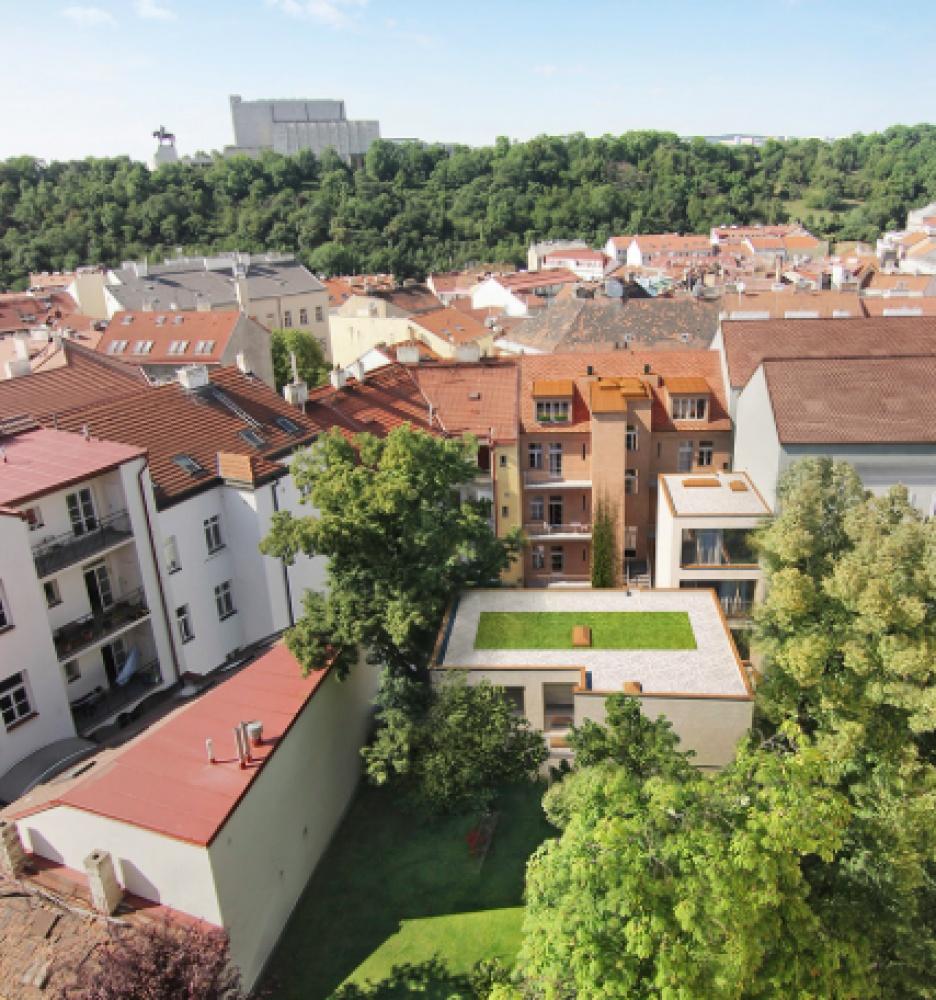 Developerský projekt Štítného, ulice Štítného, Praha 3 - Žižkov   8